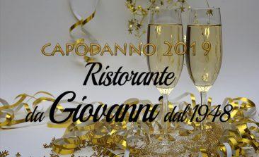 Capodanno Antica Osteria Da Giovanni Trastevere