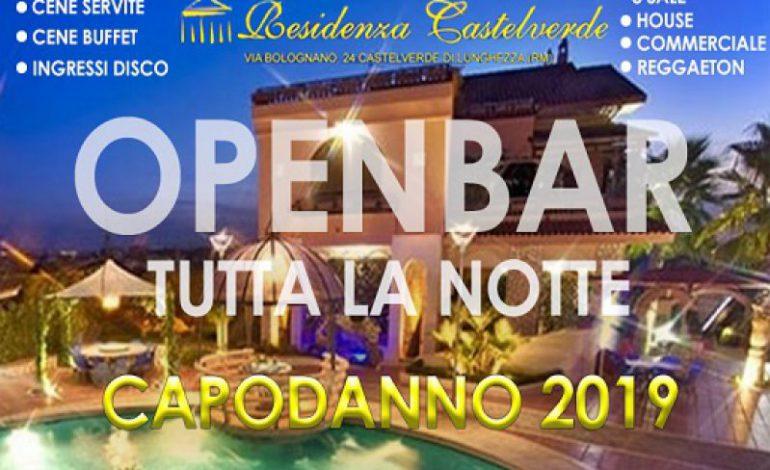 Capodanno Residenza Castelverde Roma 2019
